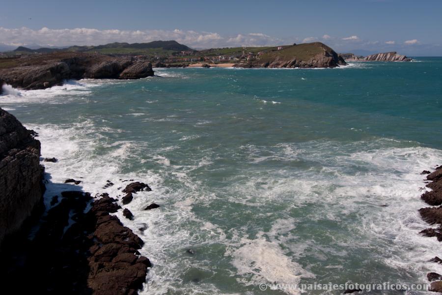 Acantilados de la Virgen del Mar y Portio