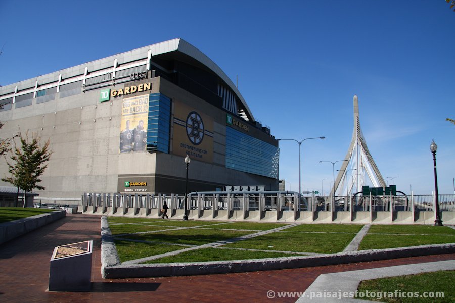 TD Banknorth Garden - sede de los Boston Celtics
