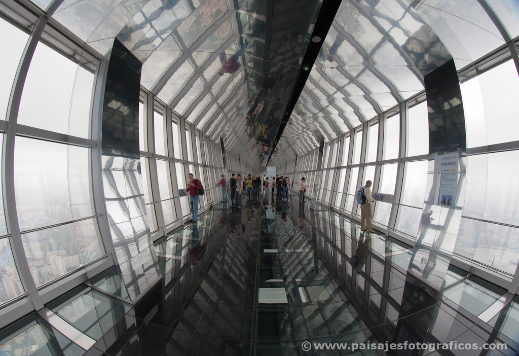 Mirador del Shanghai World Financial Center