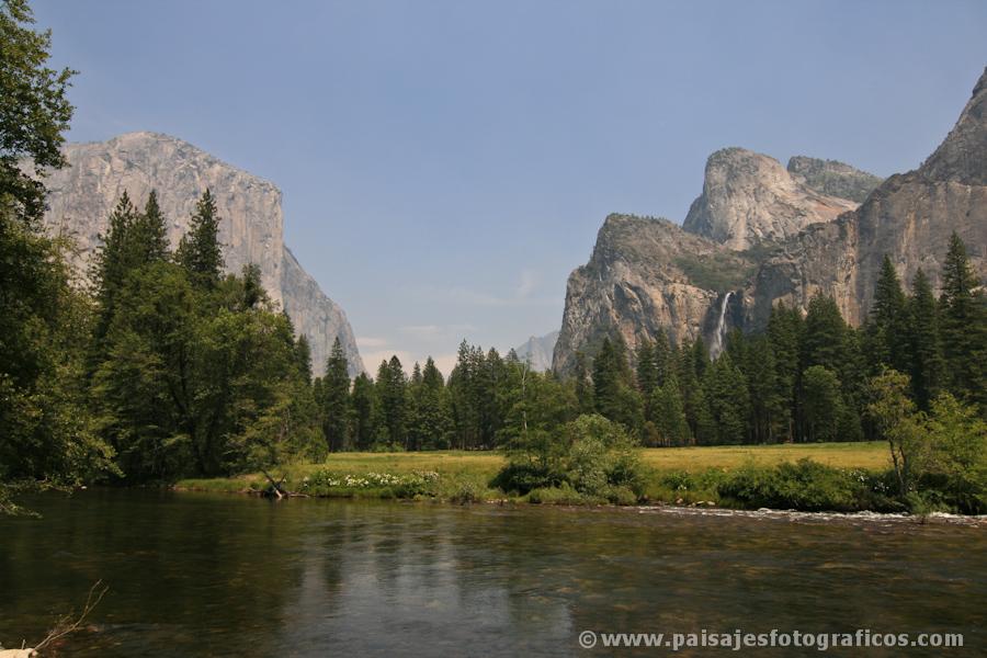 Entrada a Yosemite por El Portal
