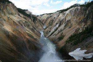 Cañón del río Yellowstone