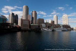 Boston desde Fan Pier