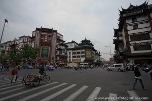 Inmediaciones del jardín Yuyuan