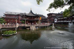 Casa de té en el Jardín Yuyuan