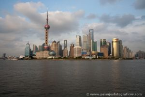 Pudong desde el Bund