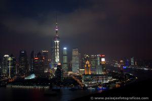 Pudong desde el Hotel Hyatt