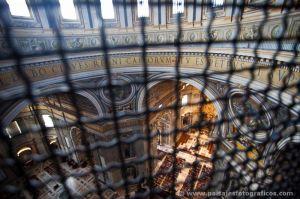 Interior desde la cúpula
