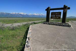 Entrada a Grand Teton